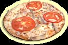 пица-крем-барбекю
